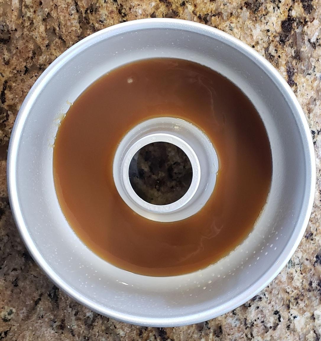 caramel ring mold