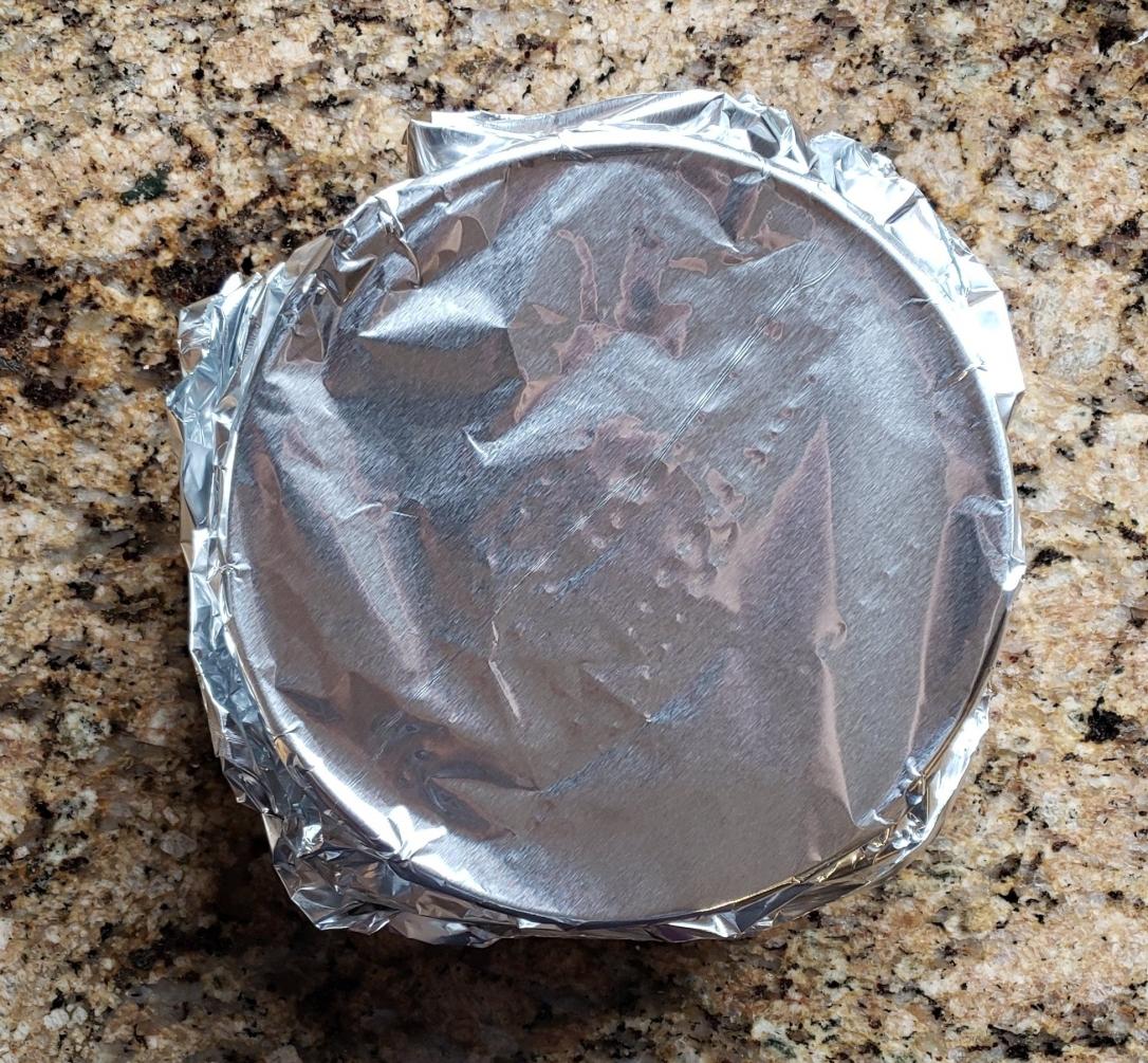 dog cake foil